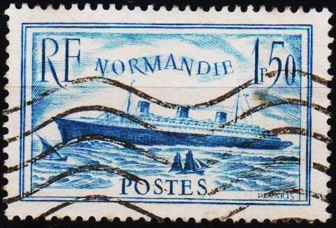 France. 1935 1f50 S.G.526 Fine Used