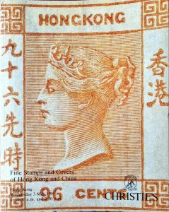 Auction Catalogue HONG KONG & CHINA inc. the Charles Dougan SHANGHAI LOCAL POSTS