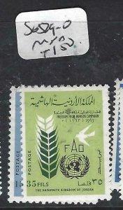 JORDAN  (PP2706B)  UN  FAO   SG 529-0   MNH
