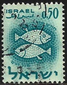 Israel 1961 Scott# 201 Used