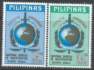 PHILIPPINES 1219-20 MNH R17-3