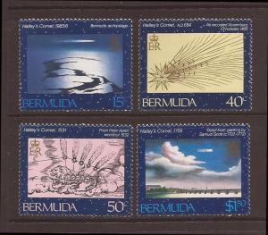 Bermuda scott #478-81 m/nh stock #16343