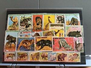 Rep De Guinea Ecuatorial Wild Animals   stamps  R25125