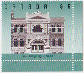Canada USC #1378 Mint Variety Lines at Right Same Green Colour As Stamp - VF-NH