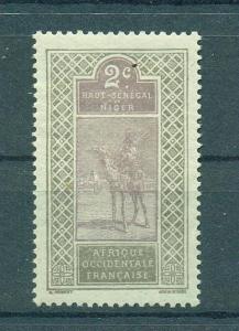 Upper Senegal & Niger sc# 19 (2) mhr cat value $.35