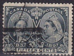 Canada #58  F-VF Used  CV $190.00  (V4612)