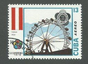 1978 Cuba Scott Catalog Number C293 Used