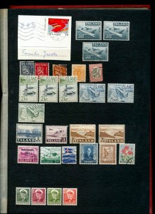 Iceland Norway Denmark OLD/Mid M&U Collection(Apprx 300 Items)NS 824