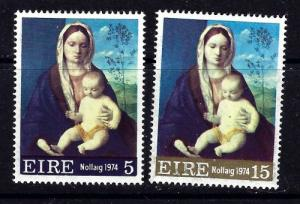 Ireland 365-66 Hinged 1974 Christmas