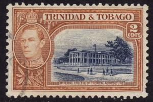 Trinidad & Tobago - 1938 - Scott #51 - used - College
