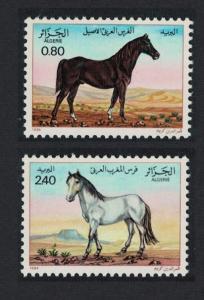 Algeria Horses 2v SG#871-872