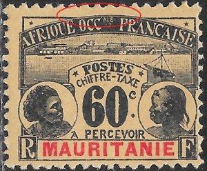 Mauritania J7 Unused/Hinged - Natives - Thin
