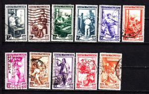 Italy 552/566 used
