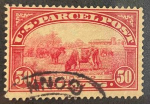 US Stamps #Q10 Used Parcel Post #Q10A145
