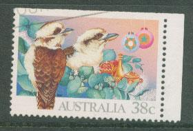 Australia SG 1272 VFU  booklet imperf stamp top right