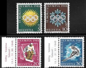 Switzerland # B170 - 73 Mint Never Hinged  -   * Dealer Priced 8 % OF C.V.*