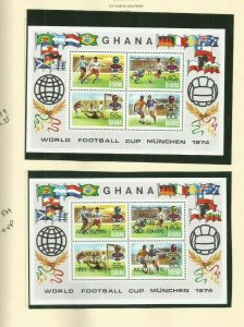GHANA SCOTT 539 AND 553  MNH