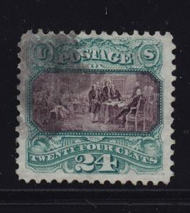 130 VF+ used neat cancel PF certificate with Rich color ! see pic !