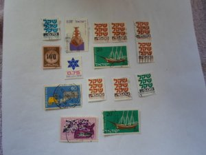 ISRAEL STAMPS MIXED CONDITION. LOT OF 15 stamps ( 8 )