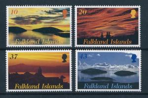 [72054] Falkland Islands 2001 Sunrise Sunset Landscapes  MNH
