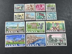 KENYA # 1-14--MINT NEVER/HINGED---COMPLETE SET---1963