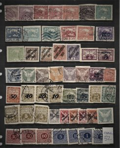STAMP STATION PERTH Czechoslovakia #52 Used - Unchecked