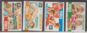 Tuvalu Scott #717-720 Stamps - Mint NH Set