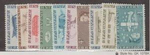 British Antarctic Territory Scott #1-10 Stamps - Mint NH Set