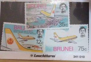 Brunei Scott #222-4nh  (1975)