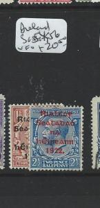 IRELAND   (P0409B) KGV  1 1/2D, 2 1/2D  SG 54, 56  MOG