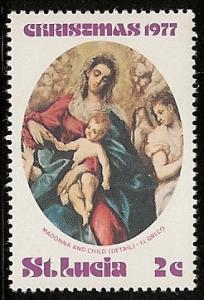 St. Lucia Mh  sc#  429