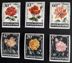 Flowers, Europe, Bulgaria, 1985, №19-T