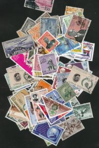 HAITI Packet of 100 different stamps