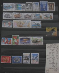 Finland Selection- #'s 732//809- SCV=$15.40