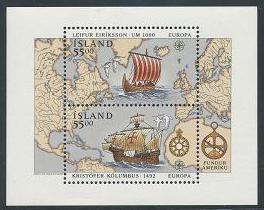 Iceland 751 MNH (1992)