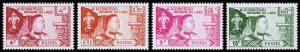 Laos Scott 52-55 (1959) Mint NH VF Complete Set W