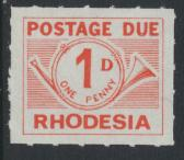 Rhodesia   SG D8 SC# J35a  MNH  Postage Due  see details