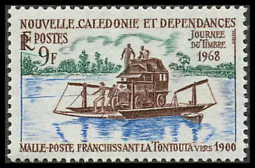 New Caledonia 368 Mint VF NH