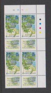 CAYMAN ISLANDS STAMPS PLATE BLOCK MNH , LOT#177