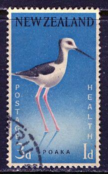 New Zealand; 1959: Sc. # B58: O/Used Single Stamp