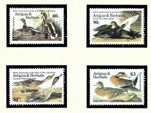 Antigua 910-13 MNH 1986 Ducks      (KA)