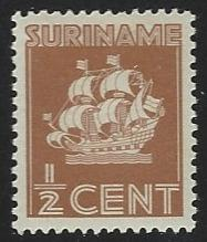 Suriname #142 Mint Hinged Single Stamp