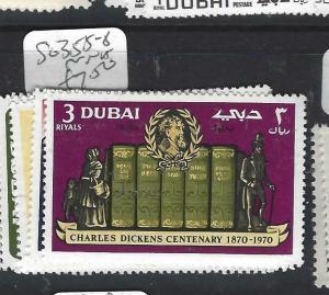 DUBAI   (P1404B)   DICKENS  SG 355-8   MNH