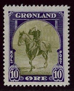 Greenland #13 MNH VF. SCV$50.00.. Good Value!