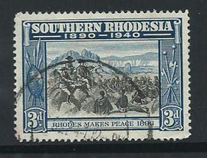 Southern Rhodesia SG 57  FU