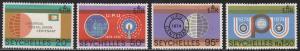 Seychelles 317-320  UPU 1974