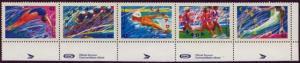 Canada - 1992 Summer Olympics Strip of 5 VF-NH #1418a
