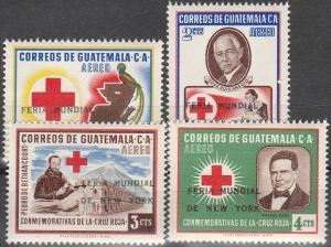 Guatemala #C291-4  MNH F-VF CV $3.20 (V327)