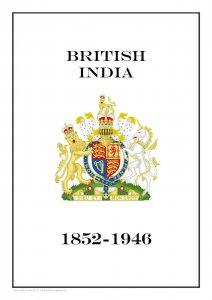 British India 1852-1946 PDF (DIGITAL) STAMP ALBUM PAGES