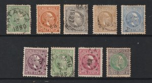 Netherlands a small used lot from 1870